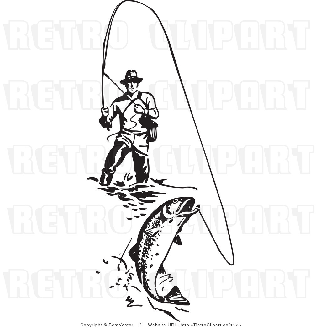 86+ Fly Fishing Clip Art.