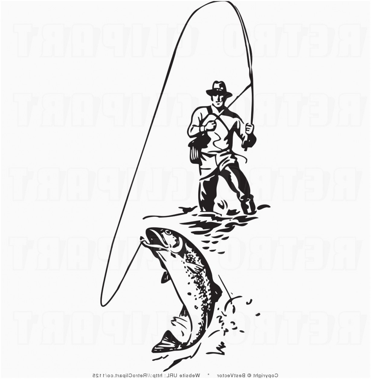 Free Fly Fishing Clipart Elegant Fly Fishing Clip Art Free.