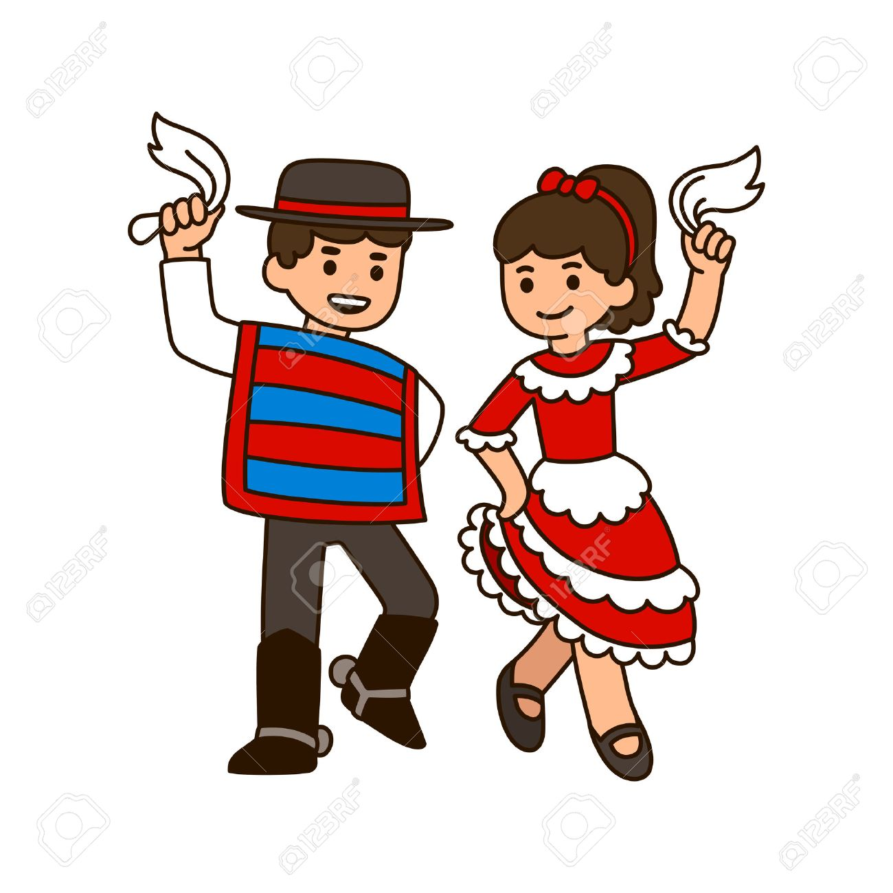 Child Dance Clipart.