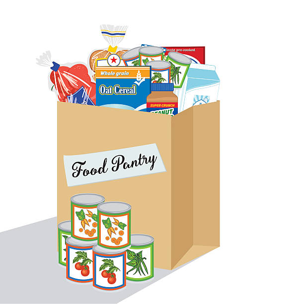 Best Food Pantry Illustrations, Royalty.