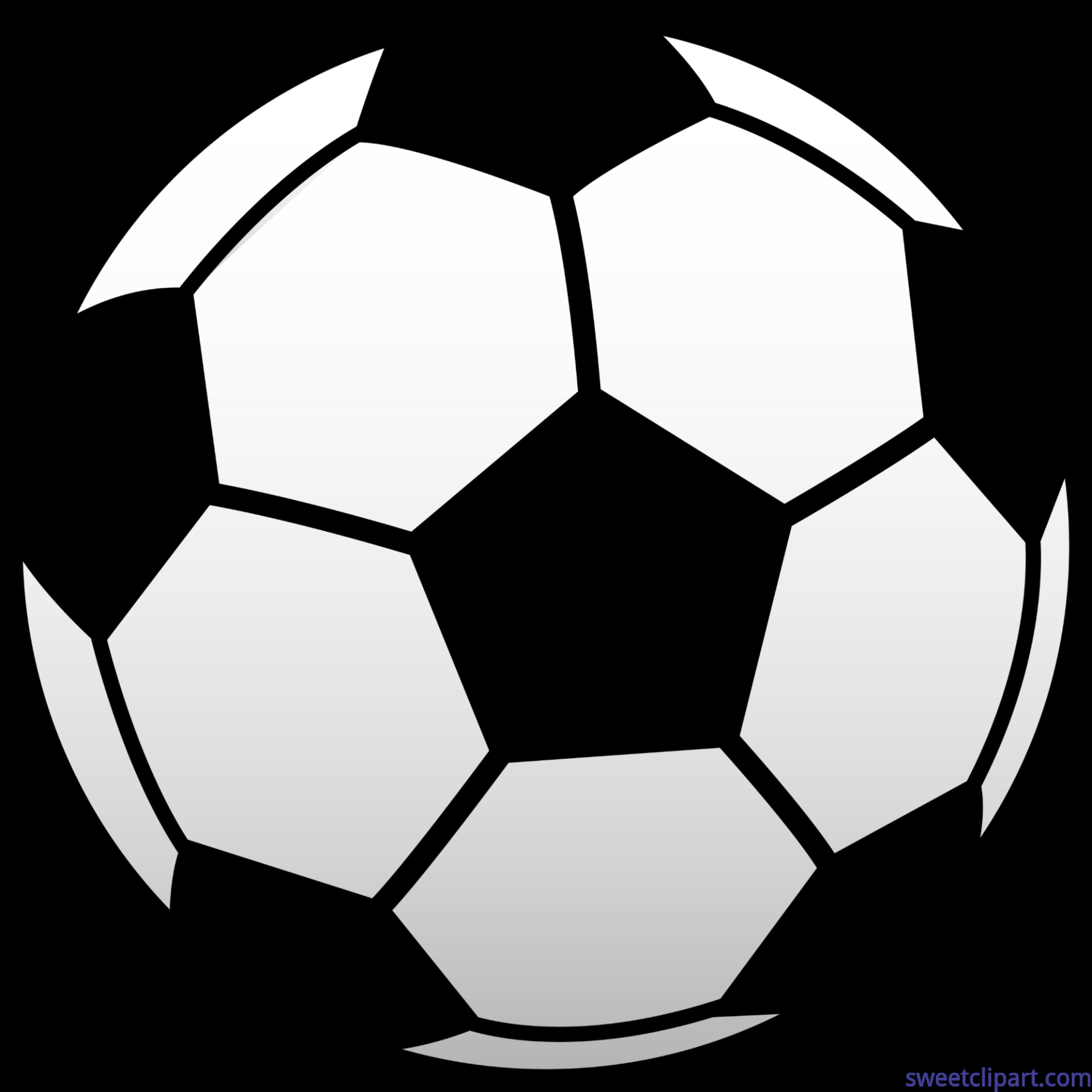 Soccer Ball Football Futbol 1 Clip Art.