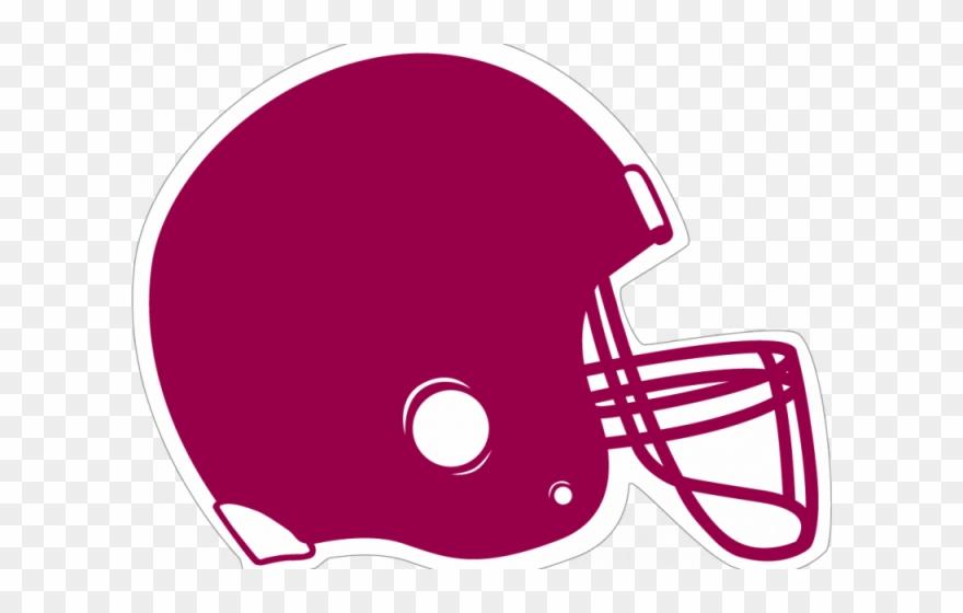 Maroon Clipart Football Helmet.
