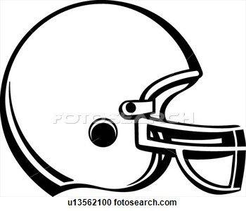 Football Helmet Clipart.