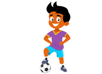 Football Player Clipart 7.