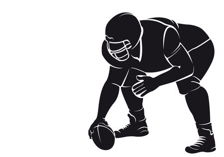 609 American Football Tackle Stock Illustrations, Cliparts And.