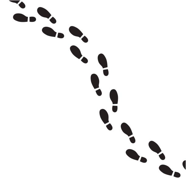 Best Footprint Illustrations, Royalty.