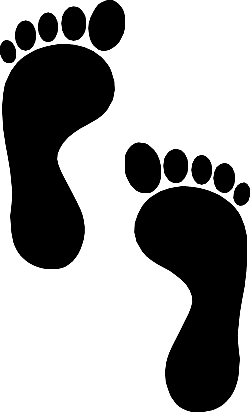 Footprints PNG Images Transparent Free Download.