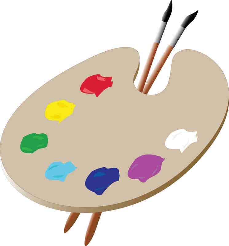 Showing post & media for Artist clip art symbols.
