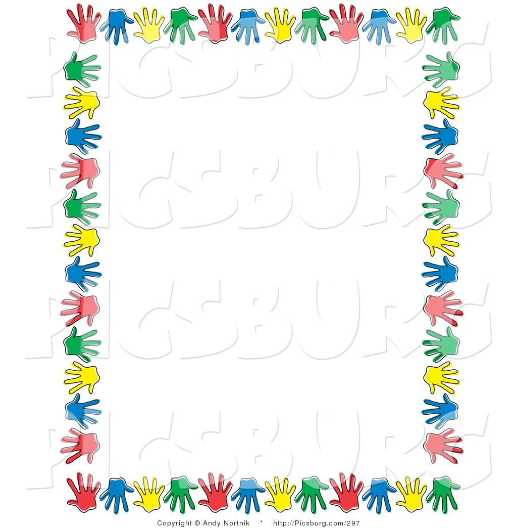Free Clip Art Borders and Frames with Children.