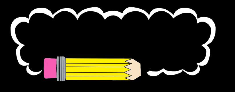 Pencil border clipart borders and frames snowjet co clip art.