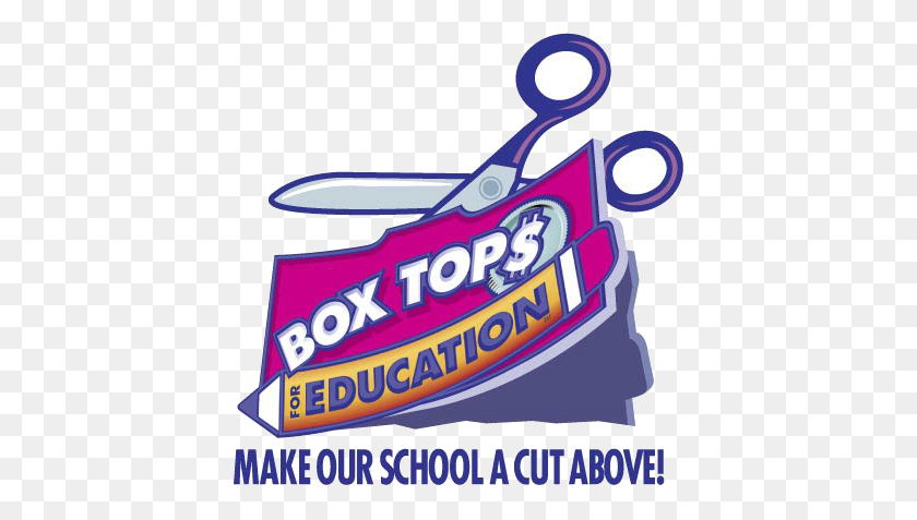 Lake Carolina Elementary Communigator Box Tops, Labels.