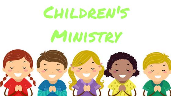 Children's Ministry Updates.