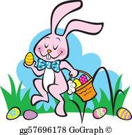 Easter Egg Hunt Clip Art.