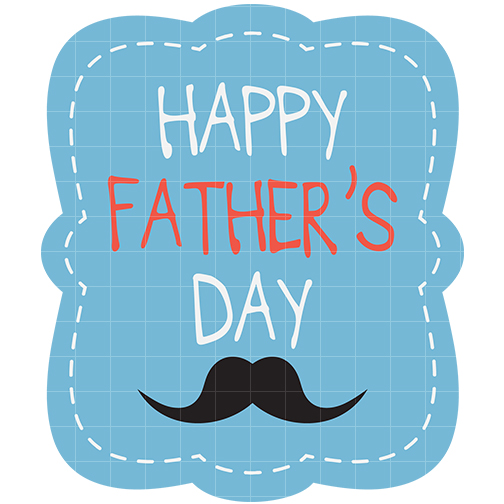 Happy fathers day clipart free black and white images.