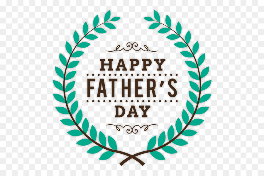 Fathers Day Logo clipart.