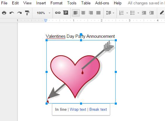 How to Integrate Clipart with Google Docs.