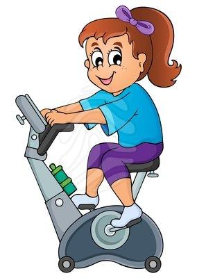 Gym Clip Art Images.