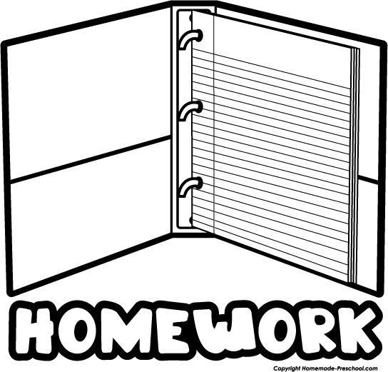 Homework Paper Clip Art (100+ images in Collection) Page 1.