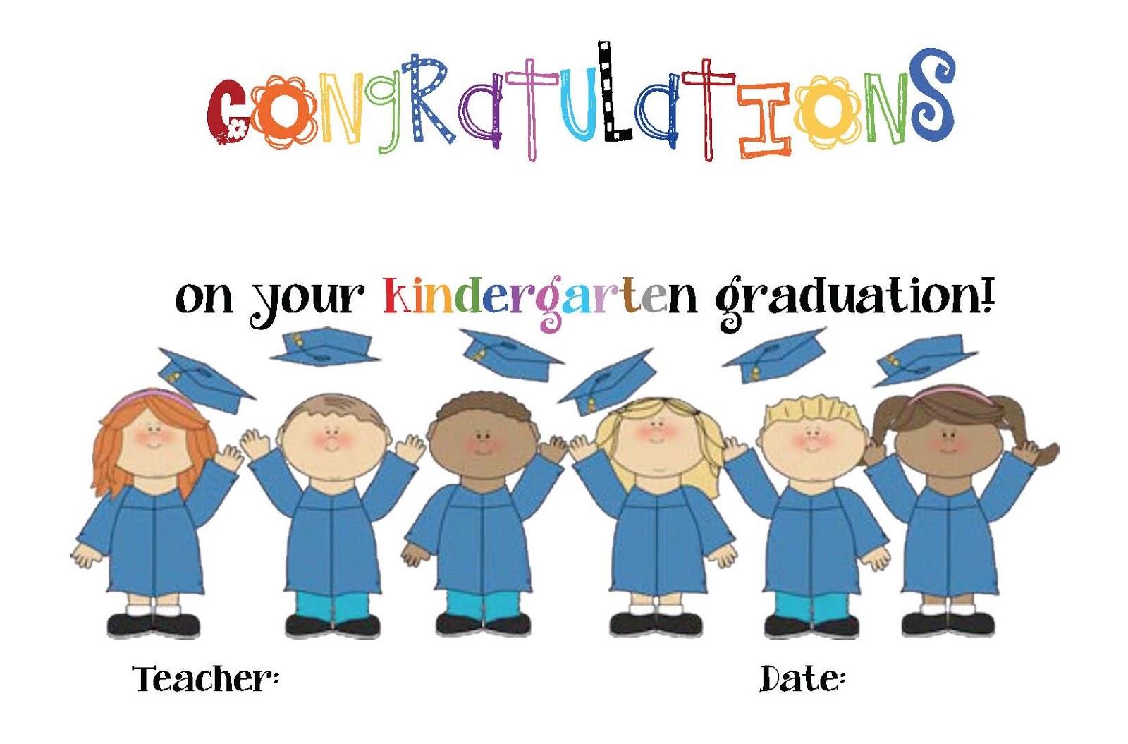 Preschool graduation clip art 3.