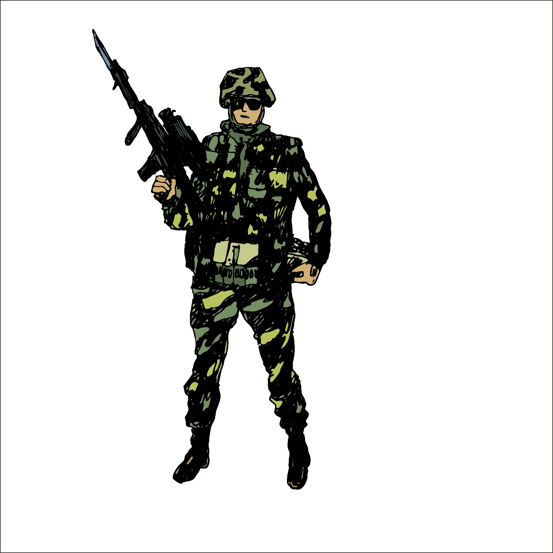 Military Clip Art.