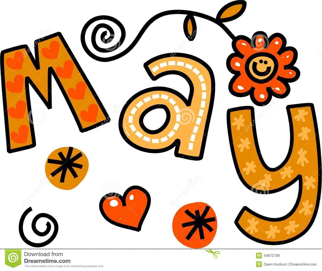 Month May Clipart Free Large.