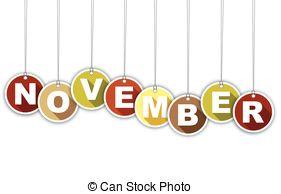 November month clip art clipartxtras.