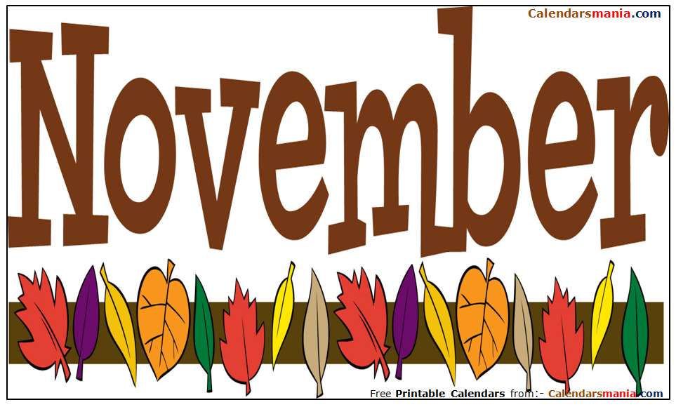 November Month Pictures, Photos, Wallpapers, Clipart.