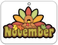 November Clipart.