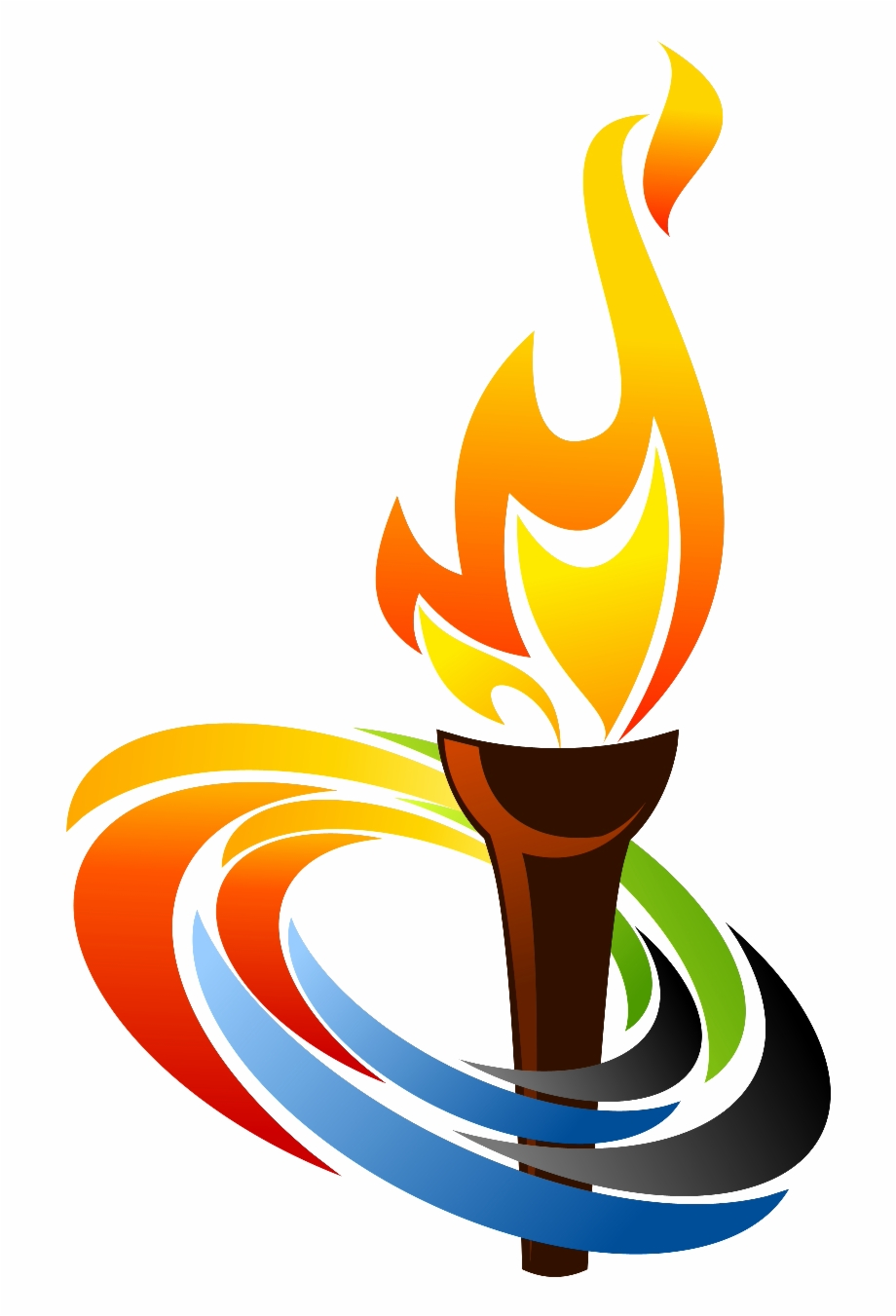 Pics For Torch Flame Png Clipart.