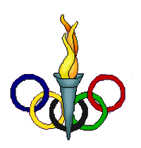 Collection of Olympics clipart.