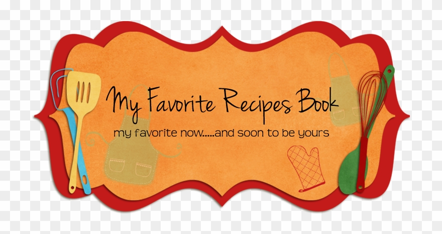 My Favorite Recipes Clipart (#263964).