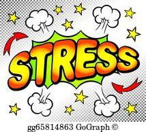 Stress Clip Art.