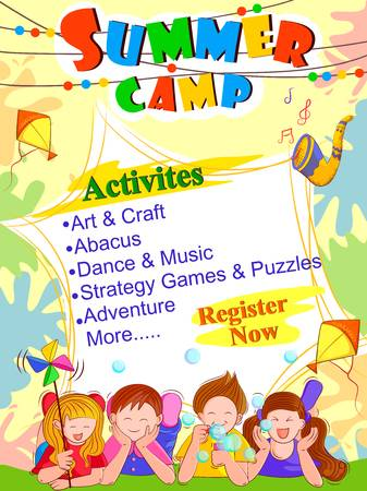 34,765 Summer Camp Stock Illustrations, Cliparts And Royalty Free.