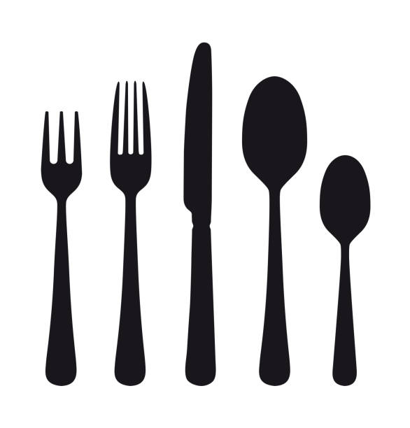 Best Fork Illustrations, Royalty.