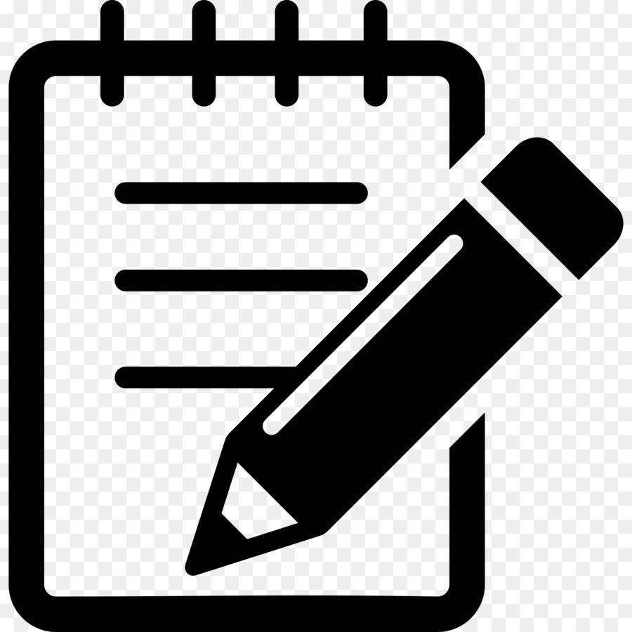 Pen And Notebook Clipart png download.
