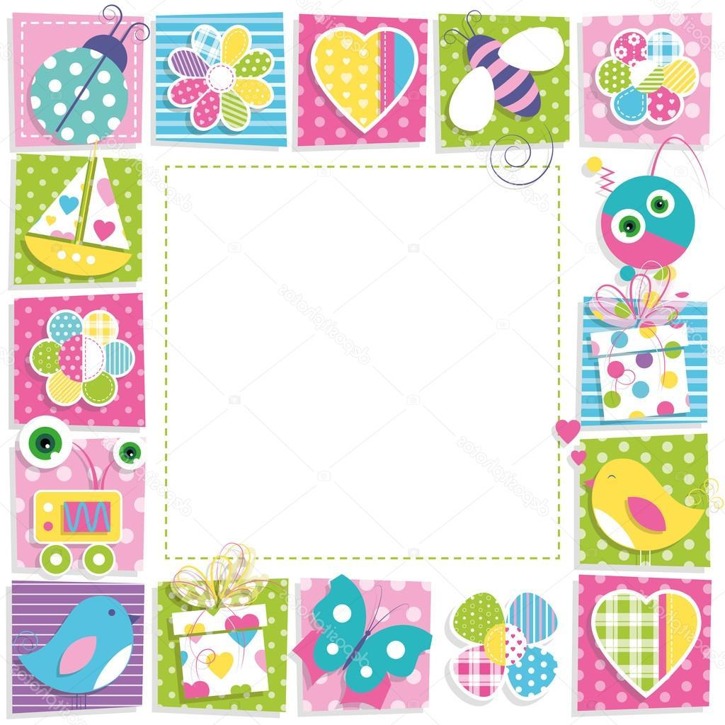 Unique Happy Birthday Borders And Frames Vector Photos » Free Vector.