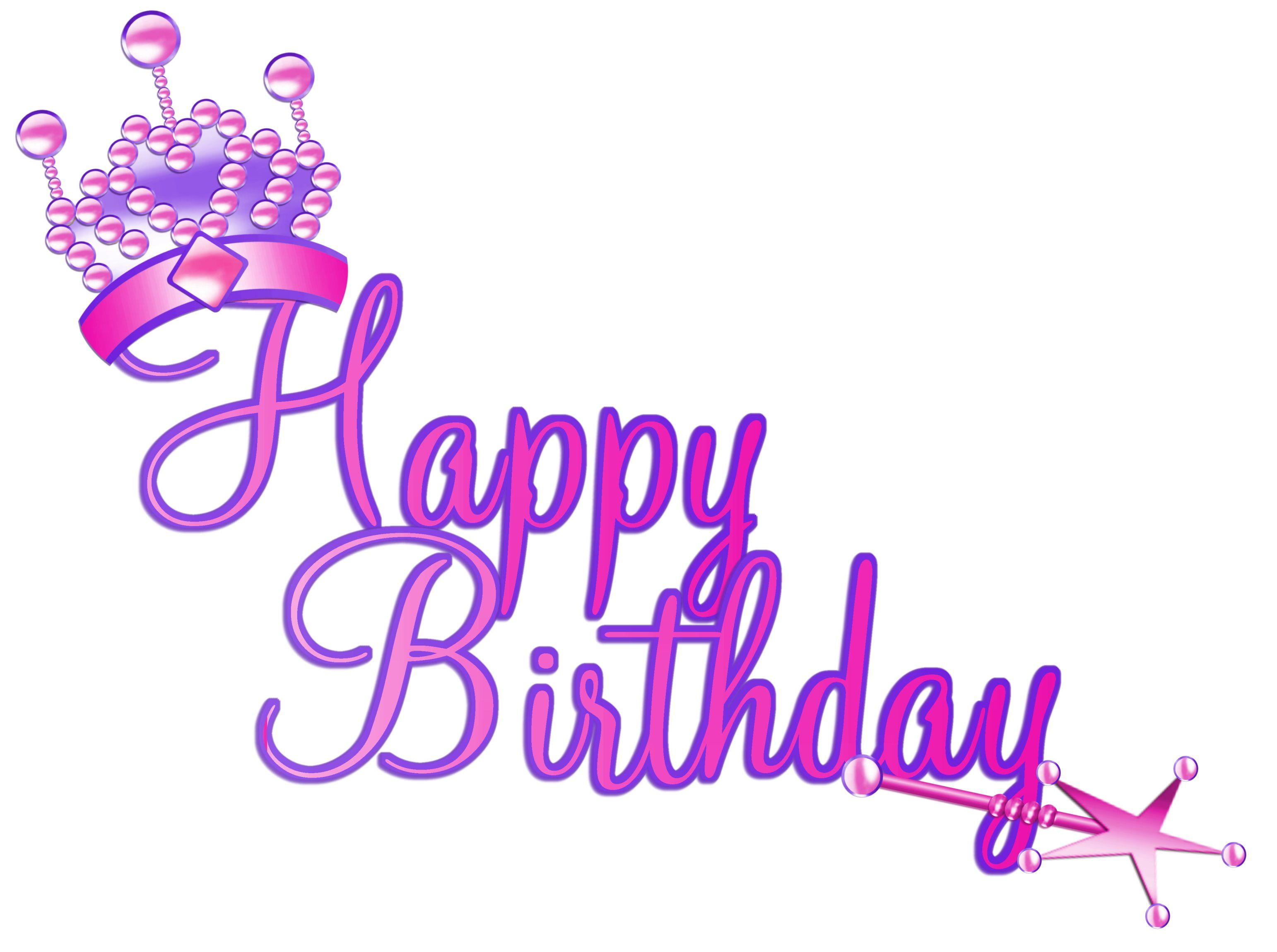Free download Glamorous Happy Birthday Clipart for your creation.