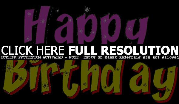 Happy Birthday Clip Art Free Download.