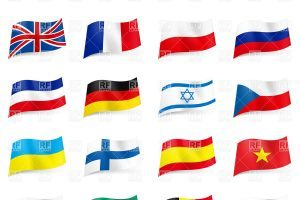 Free flags of the world clipart 4 » Clipart Portal.
