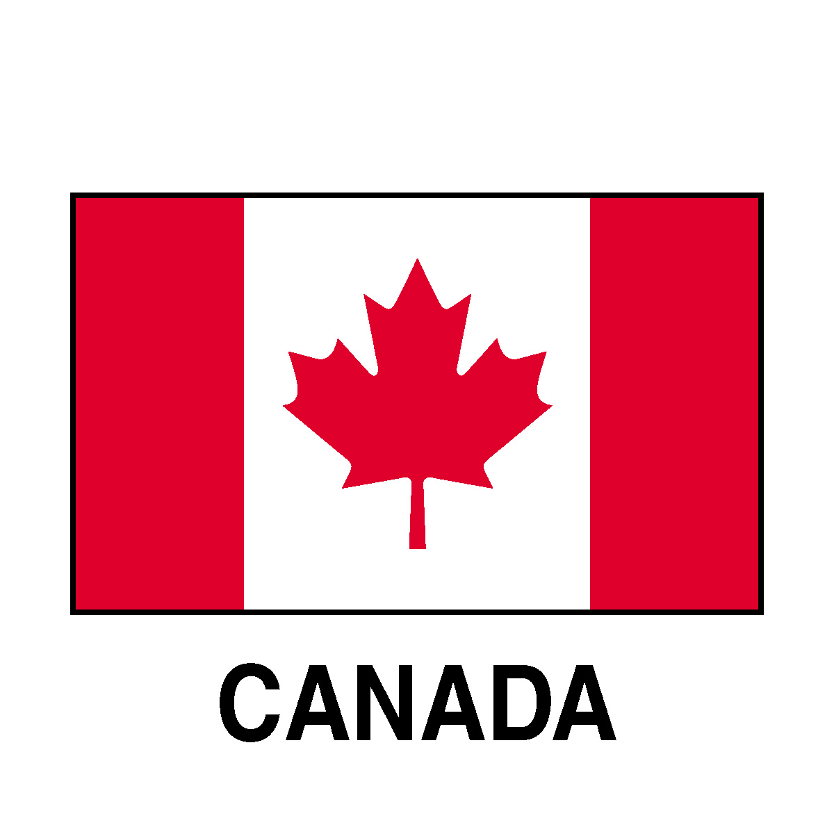 Canadian Flag Clip Art N15 free image.