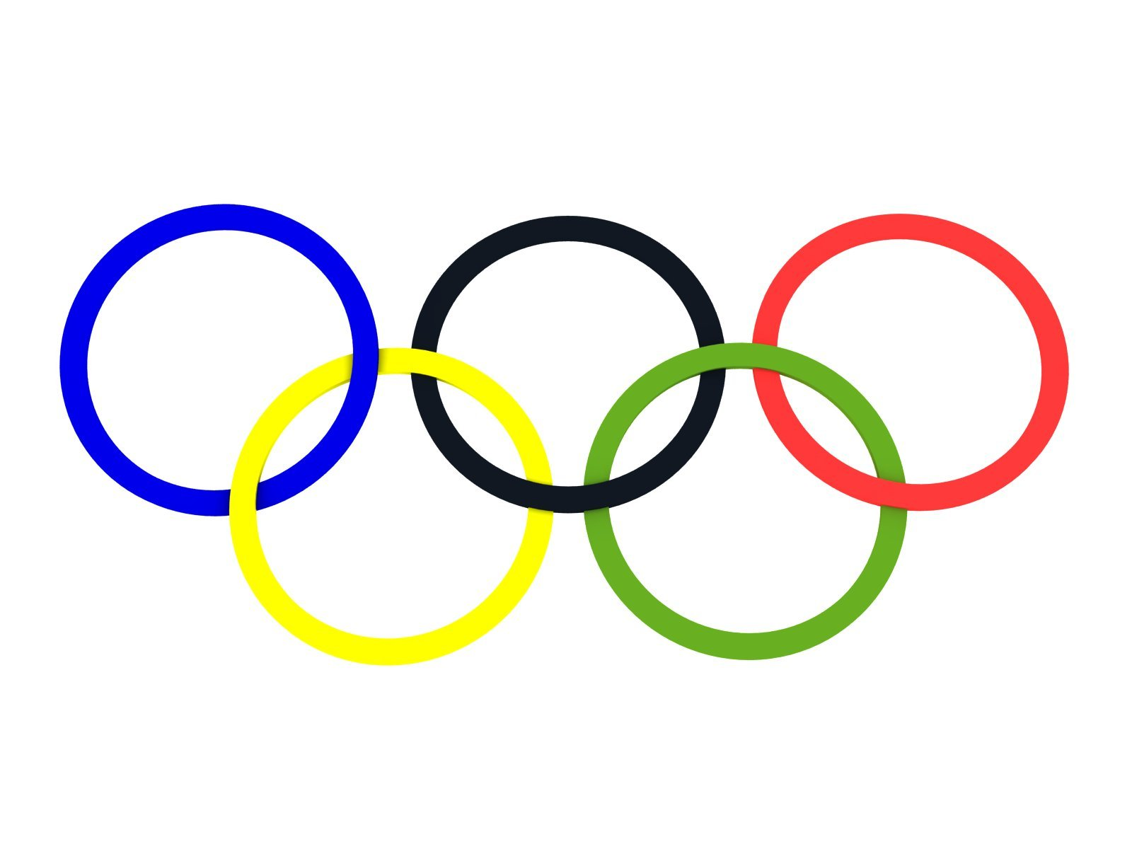 Free clipart olympic rings » Clipart Portal.