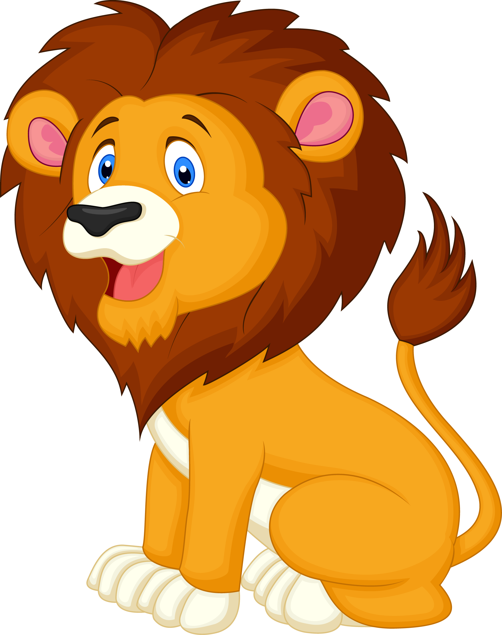 Lion Clipart for download free.