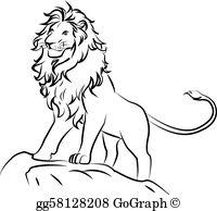 Lion Clip Art.