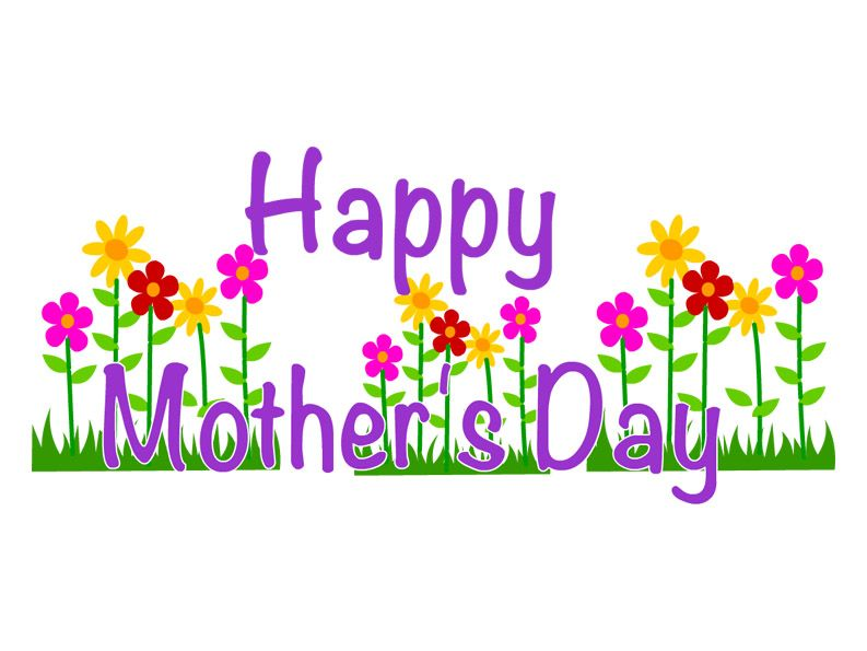 Happy Mother's Day Clip Art Free.