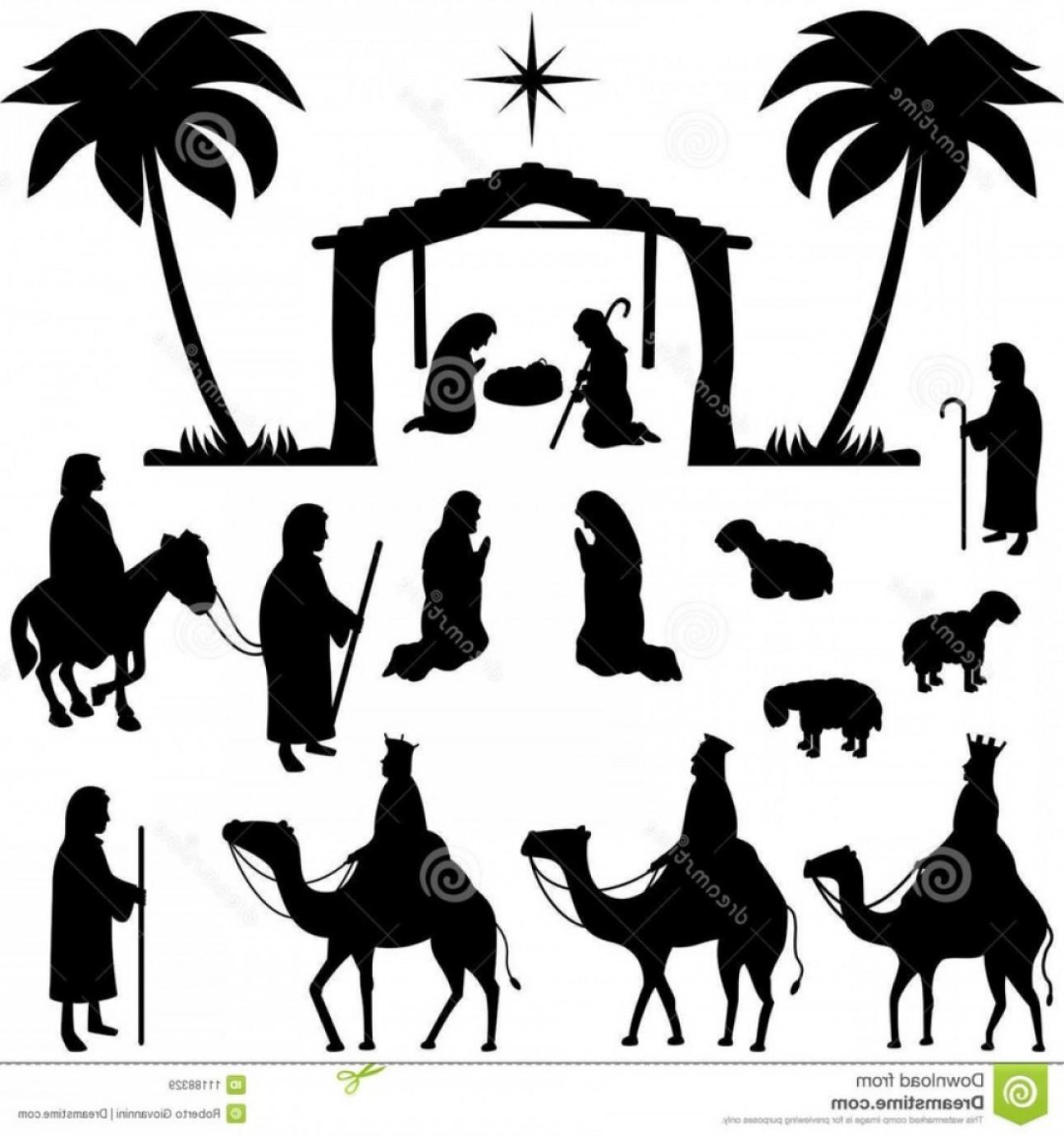 Free Nativity Scene Images Clip Art.