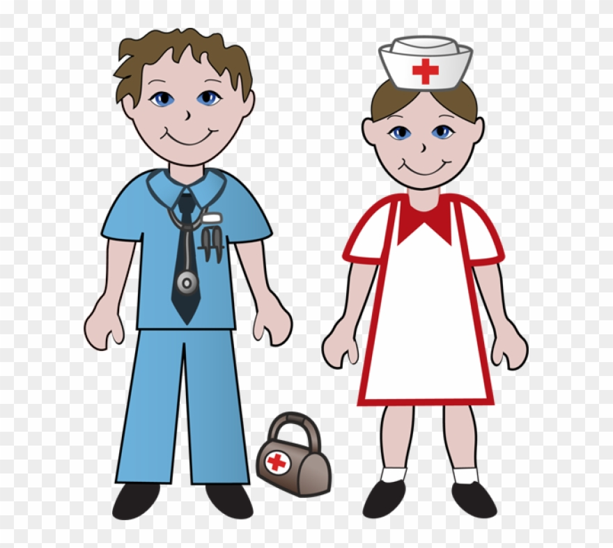 Free Clip Art Of Doctors And Nurses Doctor Nurse Clipart Png Amazing.