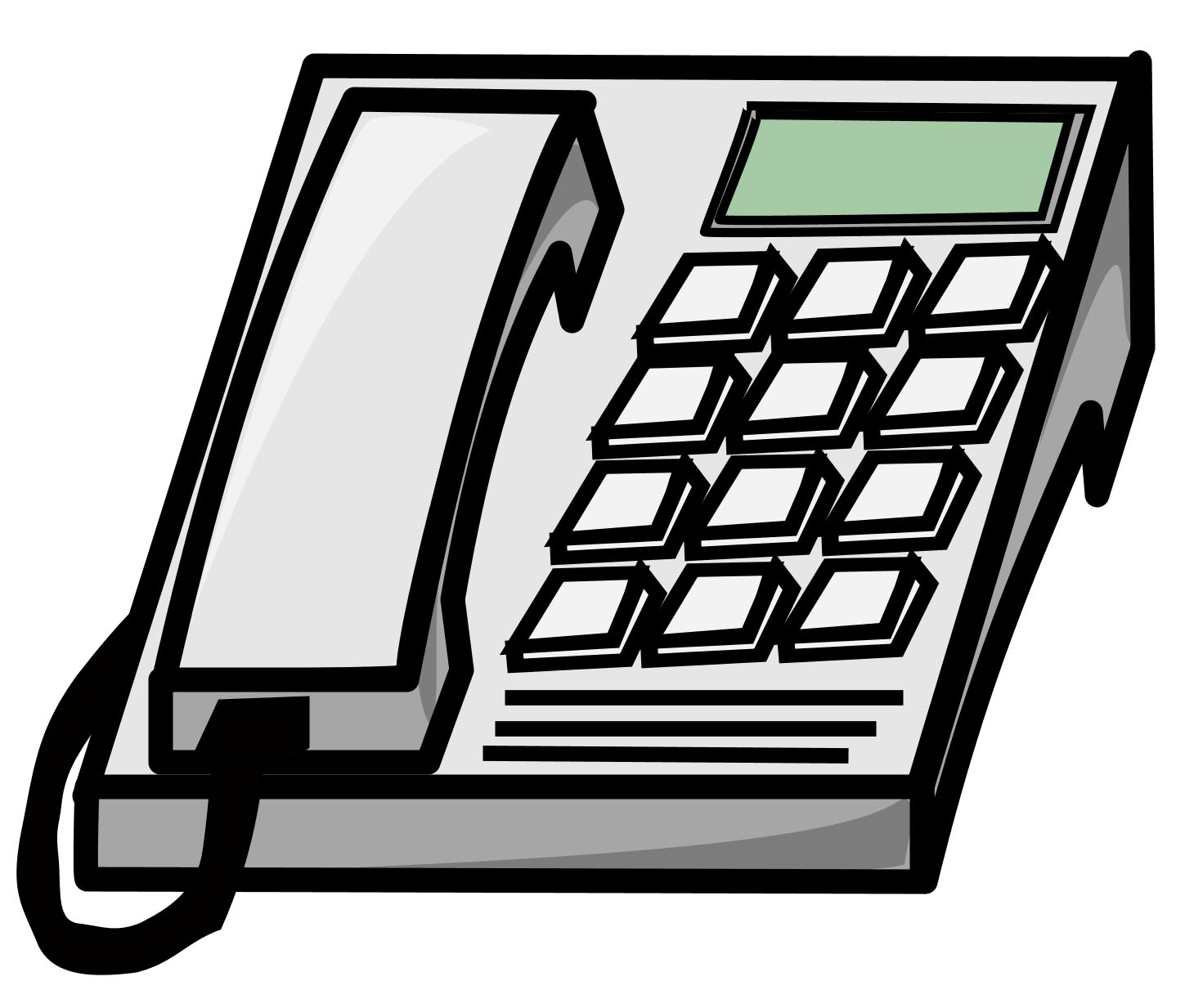Free telephone clip art pictures 2.