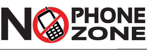 Free No Cell Phone Clipart.