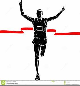 Marathon Runner Clipart.