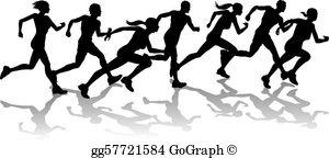 Runner Clip Art.